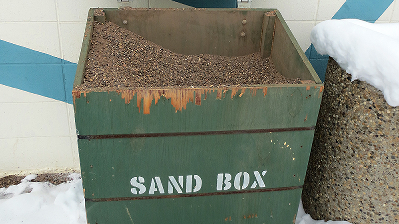 Spruce Avenue Community League is participating in the free sand program